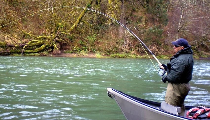 ловля марени на річці