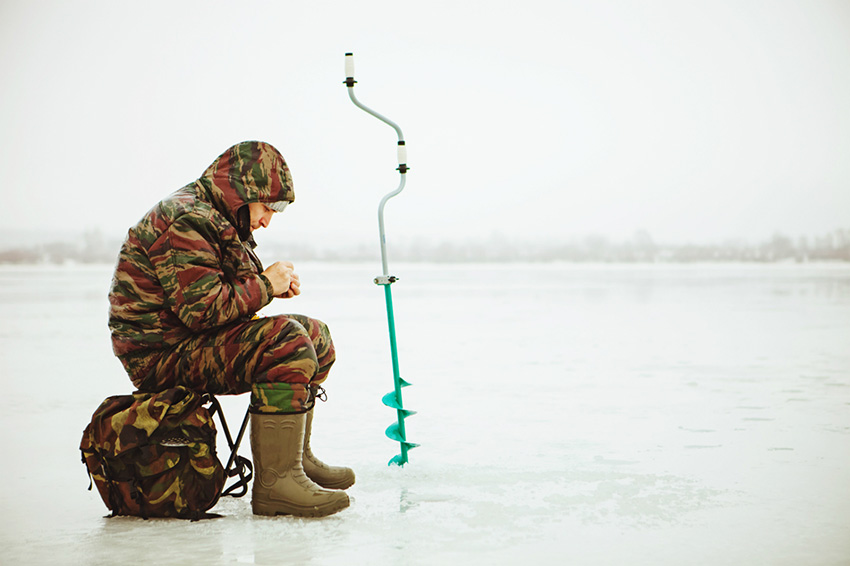 ice-fishing