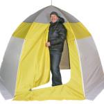 Палатка для зимней рыбалки зонтичного типа — как правильно выбрать