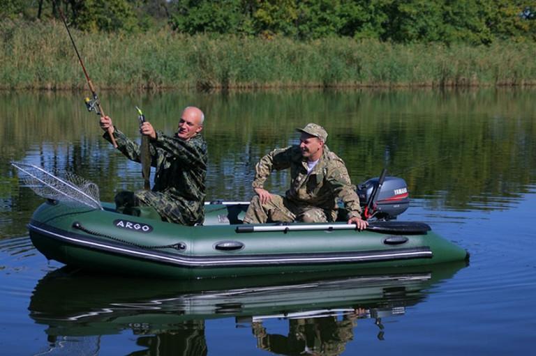 лучшая рыбалка на лодке