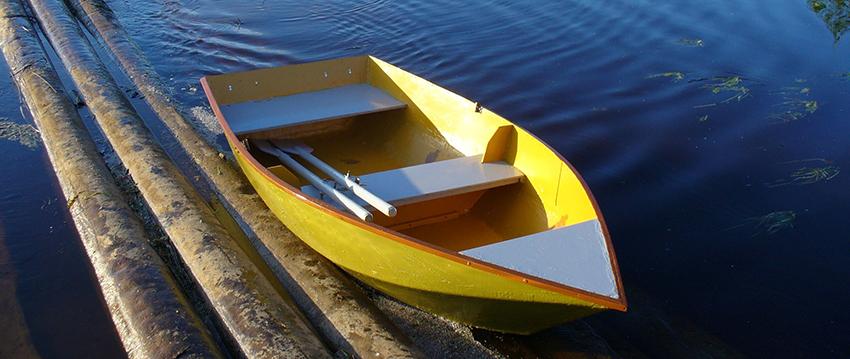 Из чего состоит лодка