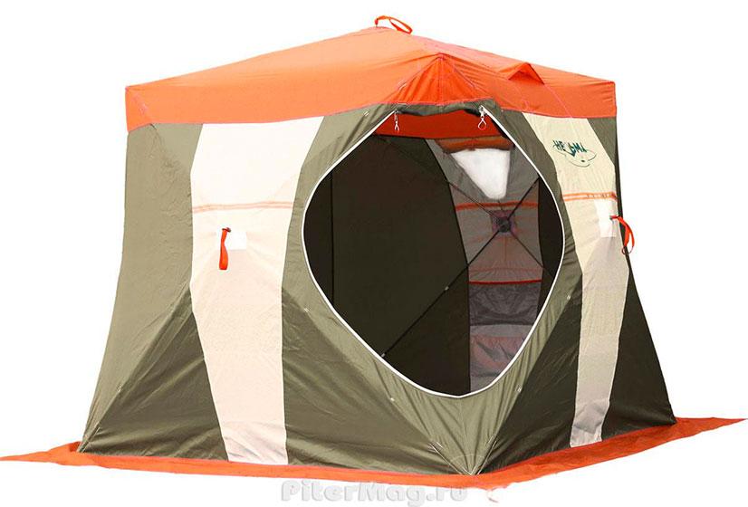 Палатки для зимней рыбалки куб. Обзор, отзывы, цены.