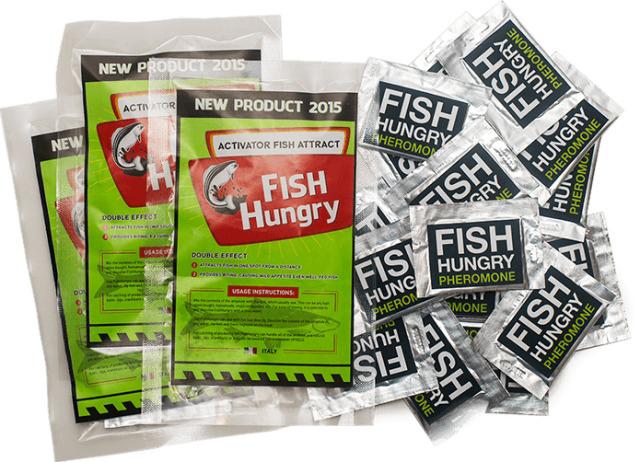 Сравнение Fishhungry и других производителей и самодельного аттрактива