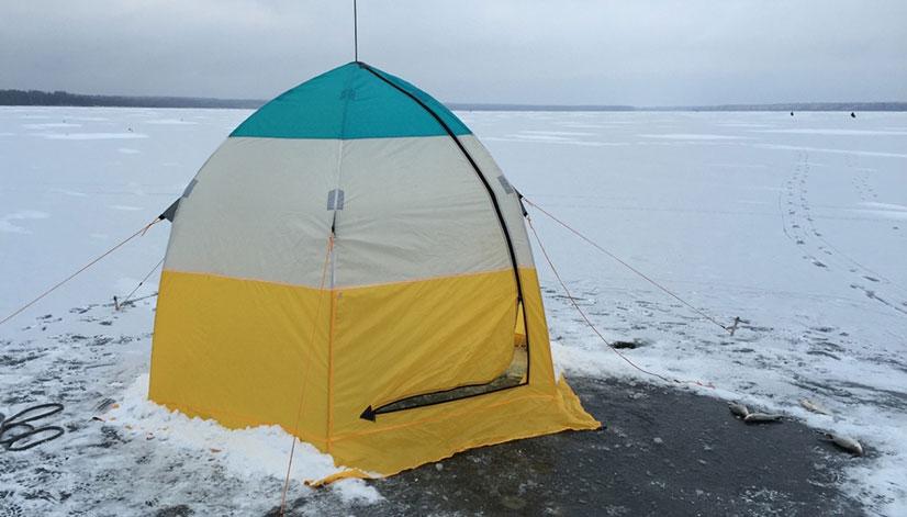 Какой материал лучше для зимней палатки?