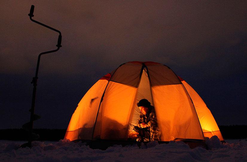 Как правильно выбрать дешевую палатку для зимней рыбалки?