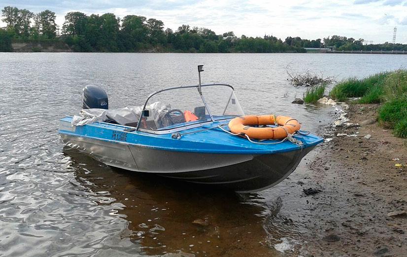 Лодка рыбалка