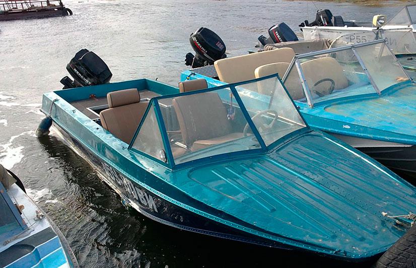 видео моторные лодки казанка