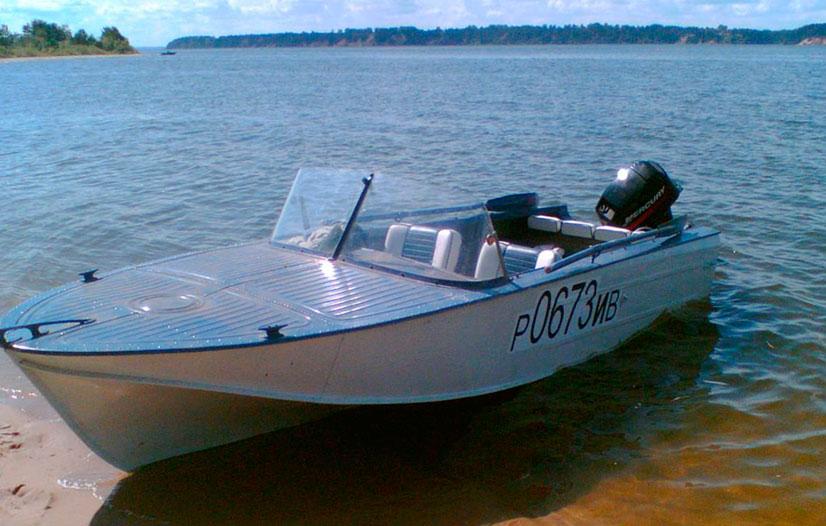 Моторная лодка Казанка 2М