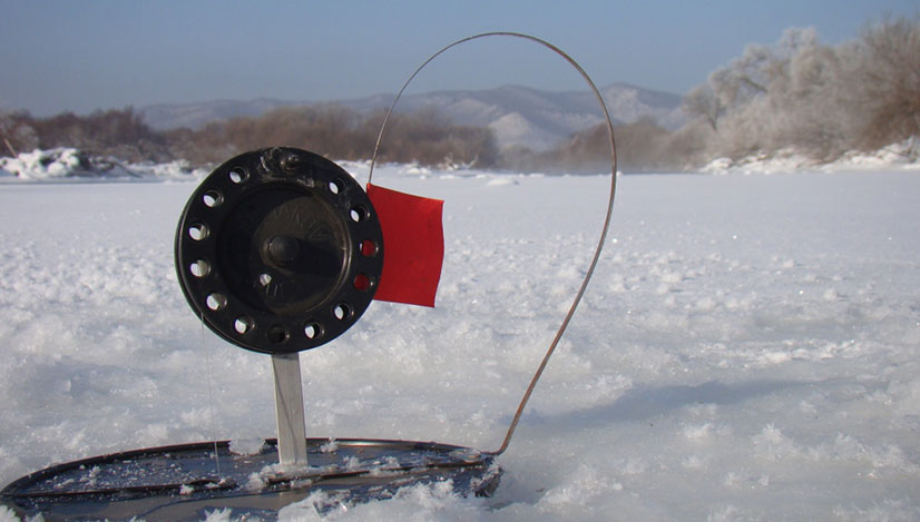 Ловля на зимние жерлицы видео