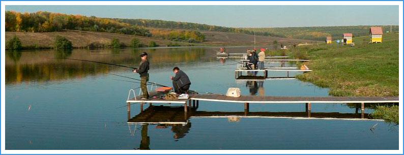 пруды и озера для рыбалки в воронеже