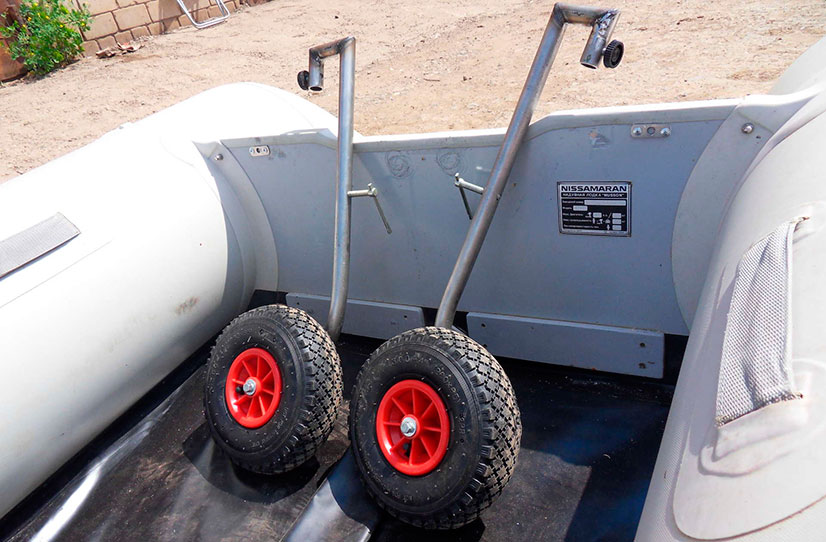 колеса для перевозок лодок