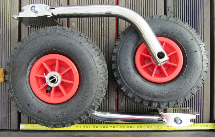 Как сделать из надувных колес не надувные 710