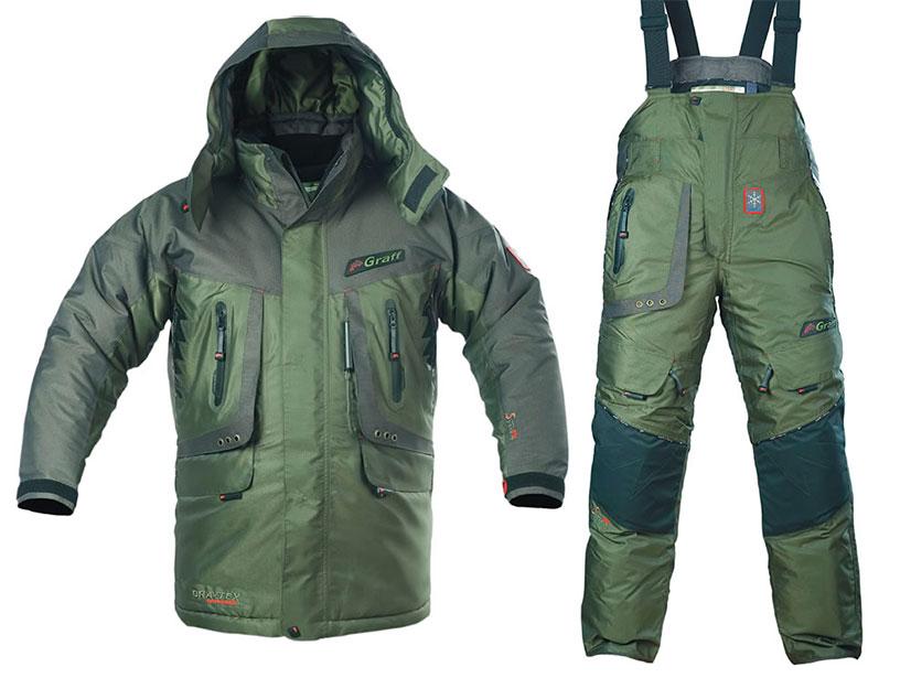 Выбор костюма для зимней рыбалки - особенности, производители, отзывы