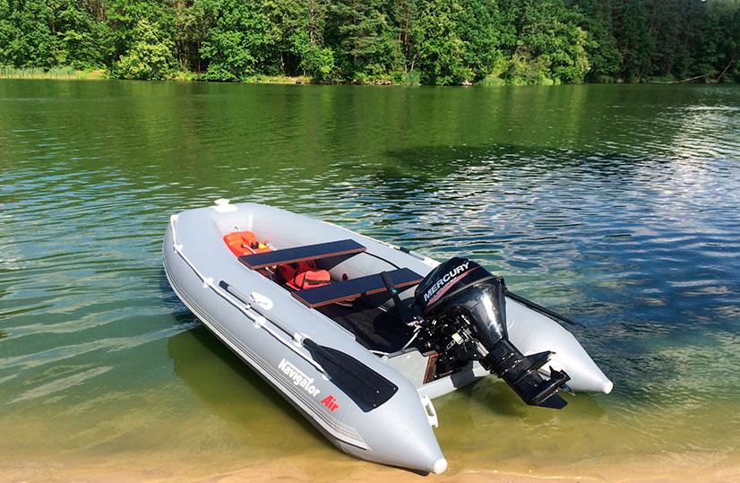 Лодка под мотор с надувным дном - критерии выбора