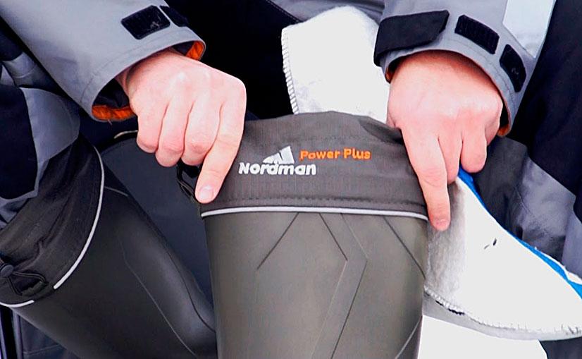 Сапоги Нордман для рыбалки (Nordman) - модельный ряд, преимущества, критерии выбора, отзывы