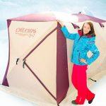 «Снегирь» — качественная палатка для рыбалки зимой