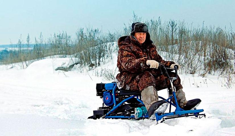 """Мини-снегоход """"Хаски"""" - описание, преимущества, отзывы"""