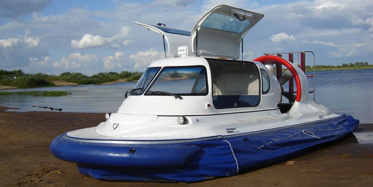 Лодка на воздушных подушках своими руками