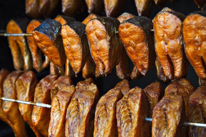 Советы по хранению копченой рыбы