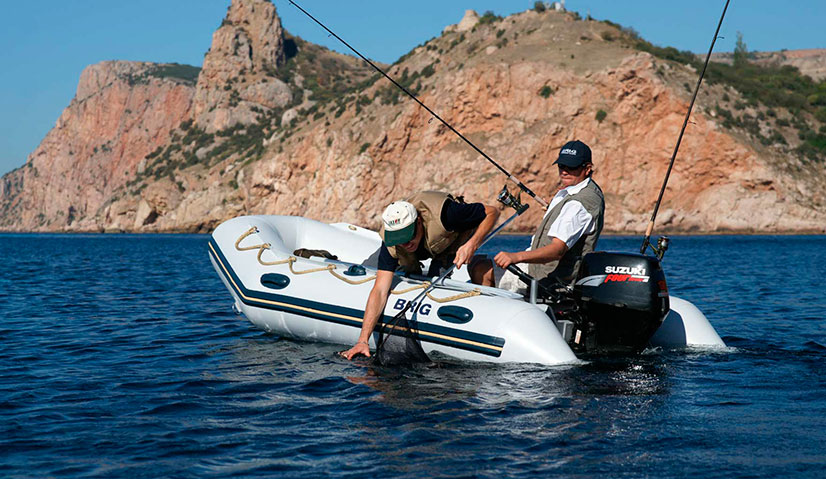 Надувные лодки для рыбалки - типы и цены