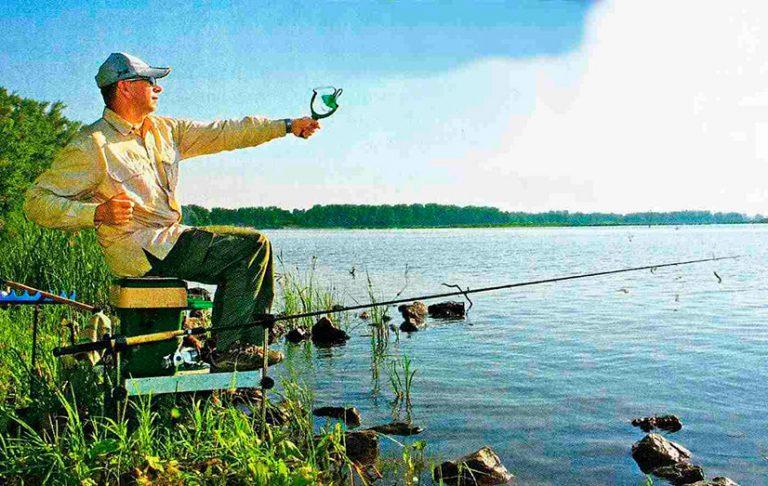 фидерная рыбалка с поплавком