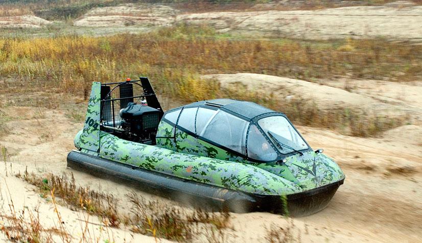 Изготавливаем самостоятельно судно на воздушной подушке
