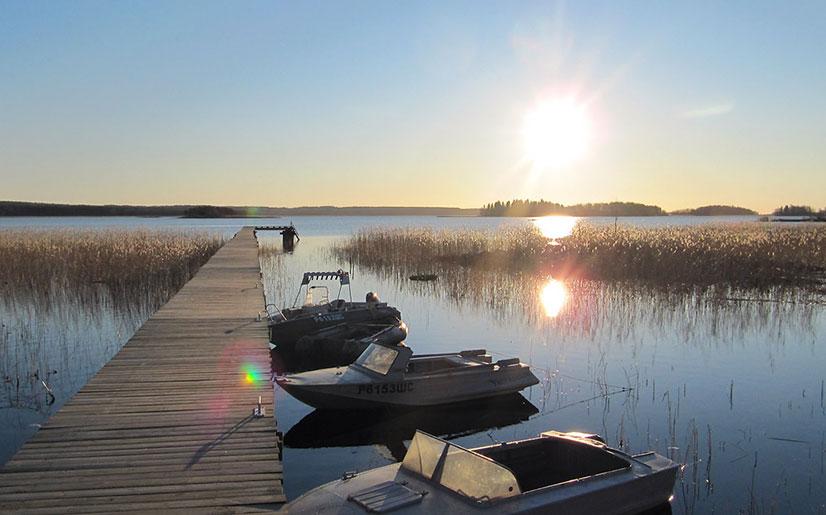 Ладожское озеро рыбалка с берега