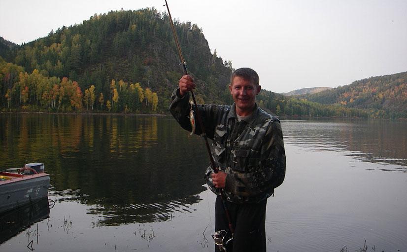 Рыбалка в тайге летом