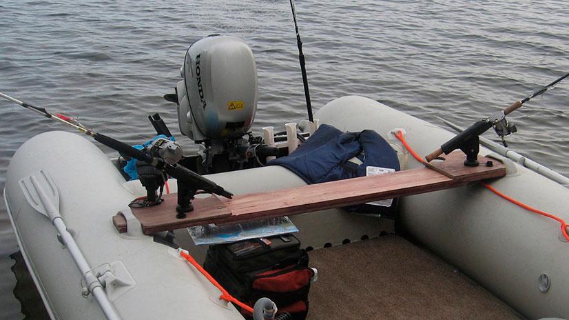 Держатель для спиннинга для пвх лодки