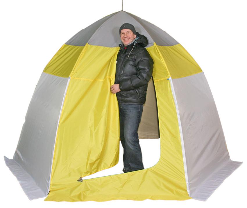 Палатка для зимней рыбалки зонтичного типа - как правильно выбрать