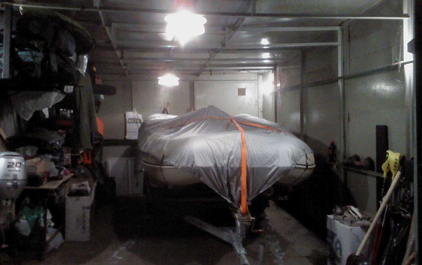 Как правильно хранить лодку из пвх зимой - рекомендации и советы