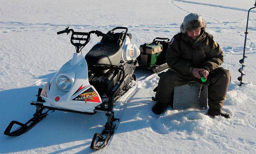 Снегоход «Рыбинка» - технические характеристики, описание и отзывы