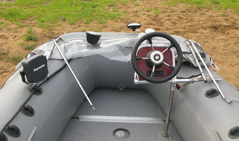 Рулевая консоль для лодки ПВХ - виды, характеристики и советы по выбору