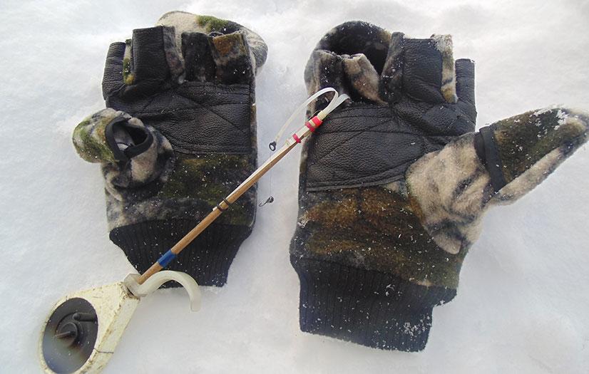 Перчатки или варежки для зимней рыбалки - обзор видов и моделей