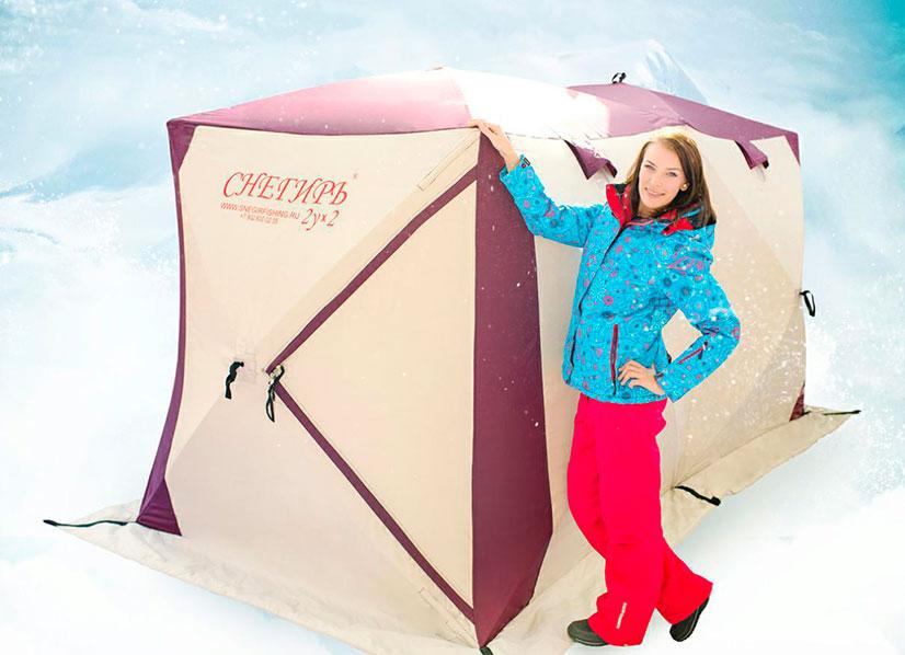 """""""Снегирь"""" - качественная палатка для рыбалки зимой"""