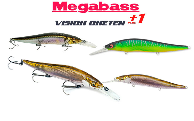 Воблеры Мegabass vision 110 oneten - модели и отзывы