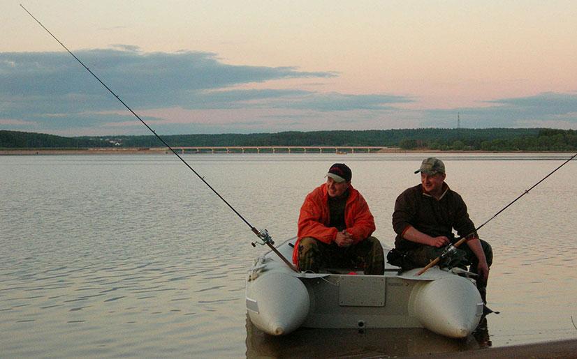 Рыбалка на Озернинском водохранилище в Подмосковье