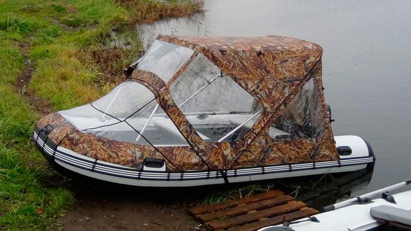 Самостоятельное изготовление тента на лодку ПВХ