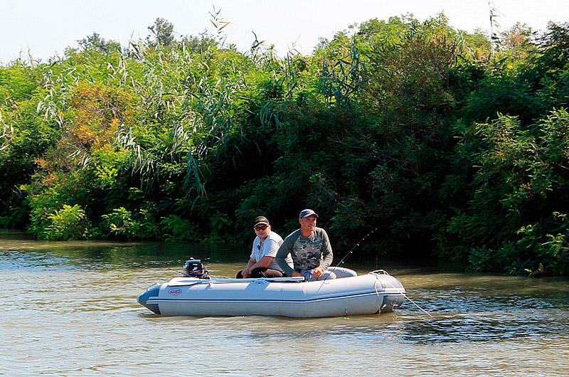 Рыбалка на реке Кубань в краснодаре